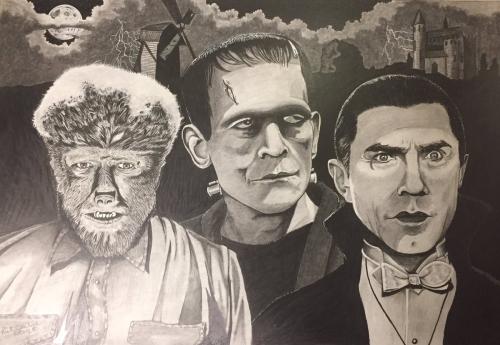 Dracula Frank Wolfman