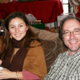 Christmas 2009 with Francesca from Chile