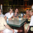 Dan crashes the girl party in Cozumel with Donna, Carrie, Shelly and Nancy