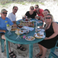 In Cozumel with Richard, Nancy, Carrie, JoAnne and Shelly