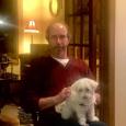 Uncle Dan with Bennie boy