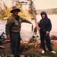Fishing with Cori in the BWCA