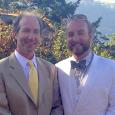 Joe and Rachel's wedding day - Oregon