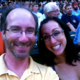 At a Twins game with Cori