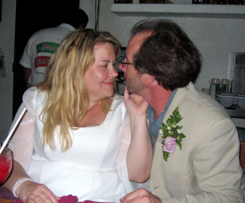 Dan and Nancy - the look of love