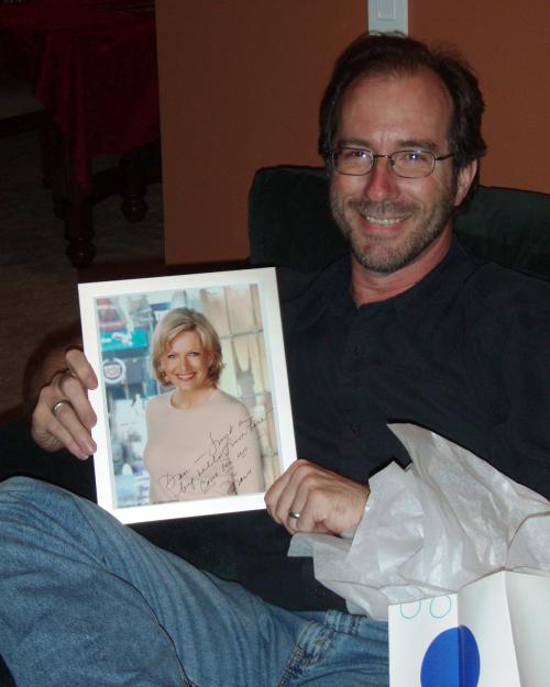 Dan with his crush Diane