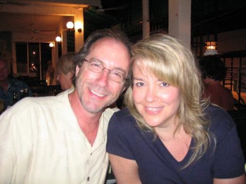 Nancy and Dan and Cozumel